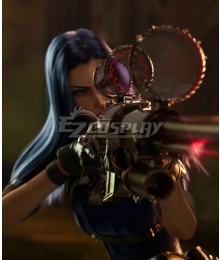 League Of Legends LOL 2020 Season Warriors Caitlyn Sniper Cosplay Costume