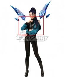 League Of Legends LOL 2020 KDA K/DA THE BADDEST Kai'Sa Kaisa Cosplay Costume - Only Coat, Top, Belt