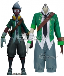 League Of Legends LOL Academy Ekko Cosplay Costume