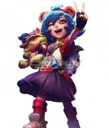 League of Legends LOL Annie 10th Anniversary Cosplay Costume