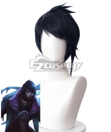 League of Legends LOL Aphelios Black Cosplay Wig - 331F