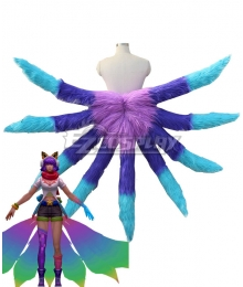 League Of Legends LOL Fifth Anniversary Arcade Ahri Skins Nine Tails Cosplay Weapon Prop