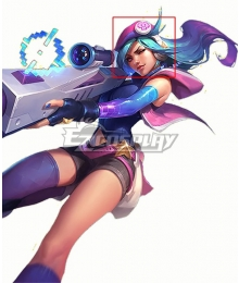 League Of Legends LOL Arcade Caitlyn Headset Cosplay Accessory Prop