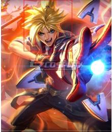 League of Legends LOL Battle Academia Ezreal Golden Cosplay Wig