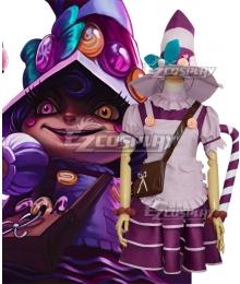 League of Legends LOL Bittersweet Lulu Christmas Cosplay Costume