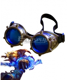 League Of Legends LOL Classic Ezreal Goggle Cosplay Accessory Prop
