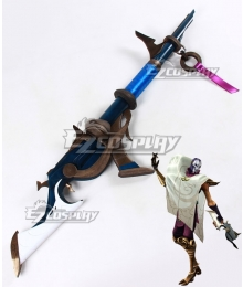 League of Legends LOL Classic Khada Jhin the Virtuoso Gun Cosplay Weapon Prop