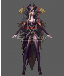 League Of Legends LOL Coven LeBlanc Golden Cosplay Wig