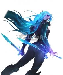 League Of Legends LOL Death Sworn Katarina Cosplay Costume
