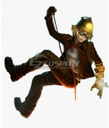 League Of Legends LOL Explorer Ezreal Cosplay Costume