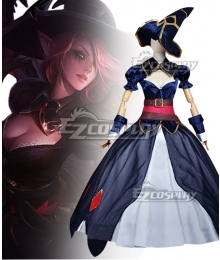 League of Legends LOL Fallen Angel Bewitching Morgana Skin Cosplay Costume