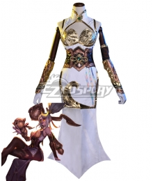 League Of Legends LOL Firecracker Vayne Prestige edition Cosplay Costume