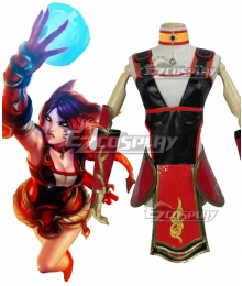 League Of Legends LOL Foxfire Ahri Cosplay Costume