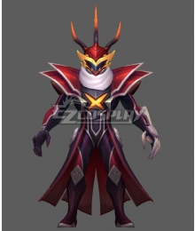 League Of Legends LOL FPX 2019 WORLD Skins Thresh Cosplay Costume