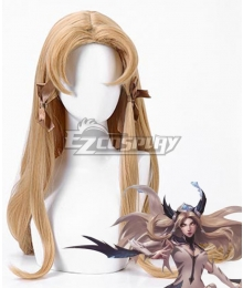 League Of Legends LOL Invictus Gaming's World Champion Skin Irelia Golden Cosplay Wig