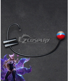 League Of Legends LOL KDA K/DA Ahri Headset Cosplay Accessory Prop