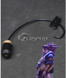 League Of Legends LOL KDA K/DA Akali Headset Cosplay Accessory Prop