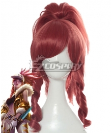League Of Legends LOL K/DA Akali Prestige Edition Pink Cosplay Wig