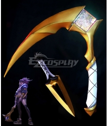 League Of Legends LOL K/DA Akali Scythe And Dagger Cosplay Weapon Prop - A Edition