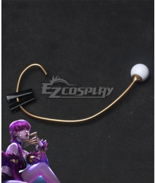 League Of Legends LOL KDA K/DA Evelynn Headset Cosplay Accessory Prop