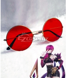 League Of Legends LOL KDA K/DA Evelynn Sunglasses Cosplay Accessory Prop