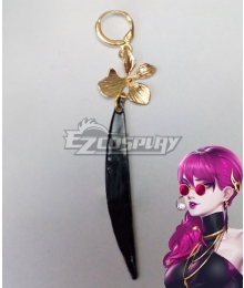 League Of Legends LOL KDA K/DA Evelynn Earring Cosplay Accessory Prop