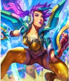 League Of Legends LOL Arcade  Kai'Sa Cosplay Costume