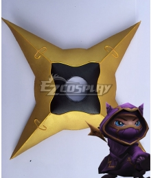 League Of Legends LOL Kennen The Heart Of The Tempest Shuriken Cosplay Weapon Prop