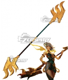League Of Legends LOL Luxanna Crownguard The Lady Of Luminosity Staff Cosplay Weapon Prop