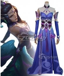 League of Legends LOL Morgana MajesticEmpressSkin Cosplay Costume