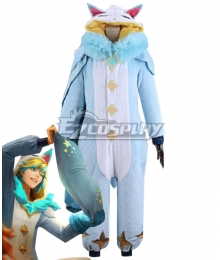 League Of Legends LOL Pajama Guardian Ezreal Cosplay Costume