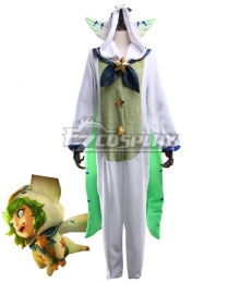 League Of Legends LOL Pajama Guardian Lulu Cosplay Costume