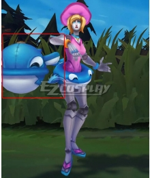 League of Legends LOL Pool Party Orianna Ball Cosplay Weapon Prop