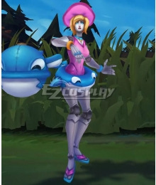 League of Legends LOL Pool Party Orianna Cosplay Costume