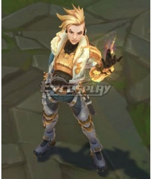 League of Legends LOL Psyops Ezreal Prestige Edition Cosplay Costume