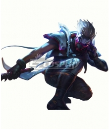 League of Legends LOL Psyops Master Yi Cosplay Costume