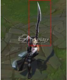 League of Legends LOL Psyops Master Yi Sword Cosplay Weapon Prop