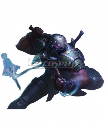 League of Legends LOL Psyops Shen Cosplay Costume