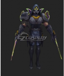 League of Legends LOL PsyOps Zed Cosplay Costume