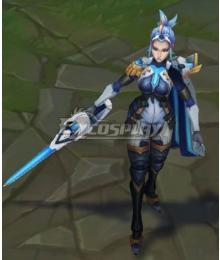 League of Legends LOL Pulsefire Fiora Cosplay Costume