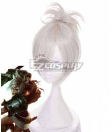 League of Legends LOL Riven White Cosplay Wig