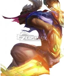 League Of Legends LOL Sandstorm Ekko Cosplay Costume