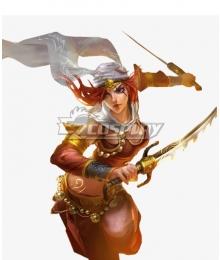 League Of Legends LOL Sandstorm Katarina Cosplay Costume