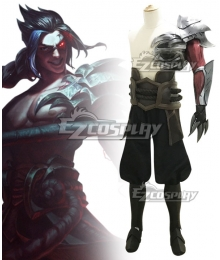 League of Legends LOL Shieda Kayn The Shadow Reaper Full Armor Cosplay Costume