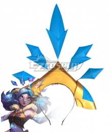 League of Legends LOL Snow Day Neeko Headwear Cosplay Accessory Prop