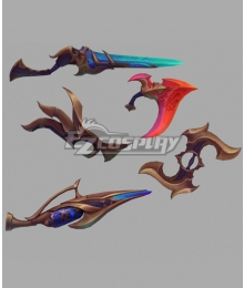 League of Legends LOL Nightbringer Aphelios Cosplay Weapon Prop