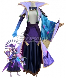 League of Legends LOL Spirit Blossom Thresh Cosplay Costume