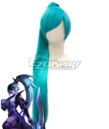 League Of Legends LOL Spirit Blossom Vayne Light Blue Cosplay Wig
