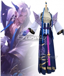 League Of Legends LOL Spirit Blossom Yone Cosplay Costume