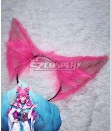League of Legends LOL Spiritblossom Ahri Ears Cosplay Accessory Prop